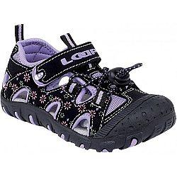 Loap LILY fialová 23 - Detské sandále