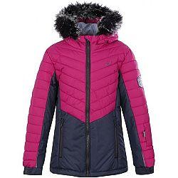 Loap OKINA ružová 164 - Dievčenská zimná bunda