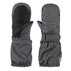 Loap RUBYK sivá 1/2 - Detské palcové rukavice