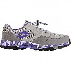 Lotto CROSSRIDE 600 II JR béžová 35 - Detská športová obuv