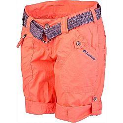 Lotto DEMI oranžová 38 - Dámske šortky