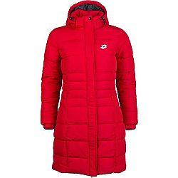 Lotto EDITH červená S - Dámsky prešívaný kabát