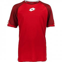 Lotto JERSEY DELTA PLUS JR červená XL - Chlapčenský futbalový dres