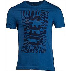 Lotto L73 V TEE LIFES JS čierna L - Pánske tričko