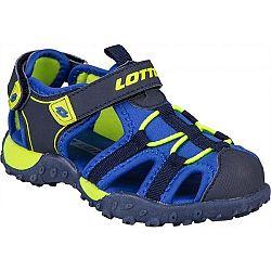 Lotto MAYPOS modrá 32 - Detské sandále