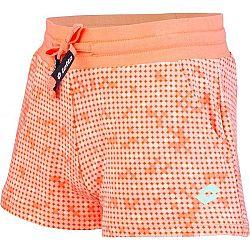 Lotto MULIAN oranžová 128-134 - Dievčenské šortky