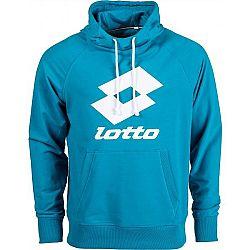 Lotto SMART SWEAT HD FT LB modrá M - Pánska mikina