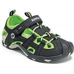 Lotto SUMATRA III CL modrá 32 - Detské sandále