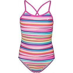 Lotto VILA oranžová 152-158 - Dievčenské jednodielne plavky