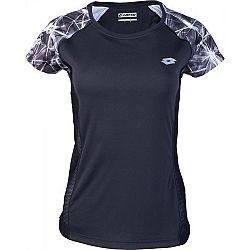 Lotto XRIDE III TEE W biela S - Dámske športové tričko