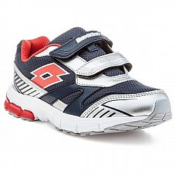 Lotto ZENITH VI CL S sivá 28 - Ľahká detská obuv