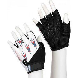 Maloja PLASCH M biela L - Cyklistické rukavice