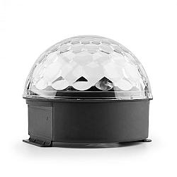 MAX Magic Jelly DJ Ball, LED svetelný efekt, RGB, ovládanie hudbou