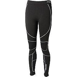 Mico LONG TIGHT PANTS WARM SKIN W čierna M-L - Dámske lyžiarske spodné nohavice