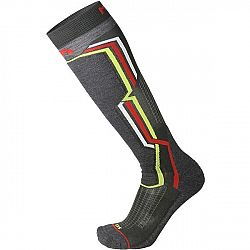 Mico MEDIUM WEIGHT ARGENTO X-STATIC SKI SOCKS modrá L - Lyžiarske ponožky