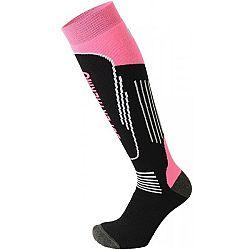 Mico SUPERTHERMO JNR čierna M - Juniorské  lyžiarske ponožky