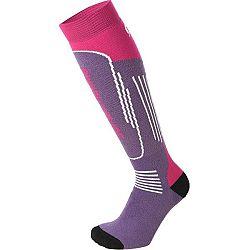 Mico SUPERTHERMO JR fialová L - Detské lyžiarske ponožky