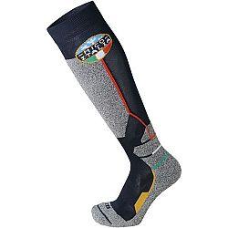 Mico WEIGHT OFFICIAL ITA SKI SOCKS JR šedá S - Detské lyžiarske ponožky
