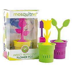 Mosquitno CITRONELLA FLOWER POT  NS - Repelentný kvetináč