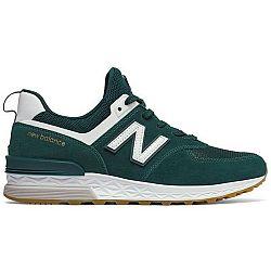New Balance MS574FCJ zelená 10 - Pánska voľnočasová obuv