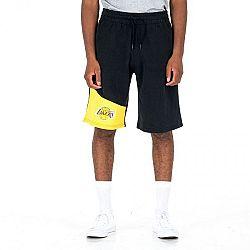 New Era NBA COLOUR BLOCK LOS ANGELES LAKERS čierna XL - Pánske šortky