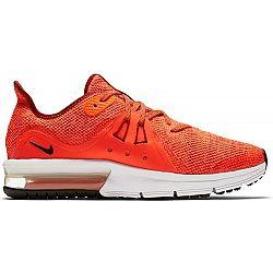 Nike AIR MAX SEQUENT 3 GS červená 5Y - Chlapčenská bežecká obuv