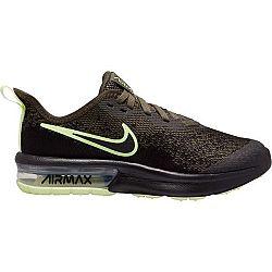 Nike AIR MAX SEQUENT 4 tmavo zelená 7Y - Detská voľnočasová obuv
