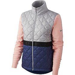 Nike AROLYR JKT W ružová M - Dámska bežecká bunda