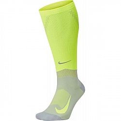 Nike COMPRESSION OVER-CALF-SOCKS žltá 12 - Bežecké podkolienky