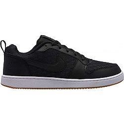 Nike COURT BOROUGH LOW SE SHOE čierna 10 - Pánska voľnočasová obuv