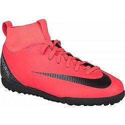 Nike CR7 JR MERCURIALX SUPERFLY 6 CLUB TX červená 4.5Y - Detské turfy
