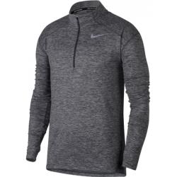 Nike DRY ELMNT TOP HZ sivá L - Pánsky bežecký top