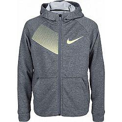 Nike DRY TRAINING HOODIE šedá XS - Chlapčenská mikina
