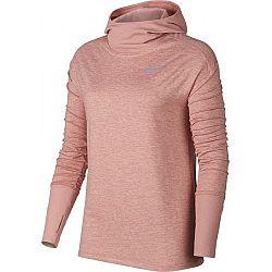 Nike ELMNT HOODIE svetlo ružová XL - Dámska běžecká mikina