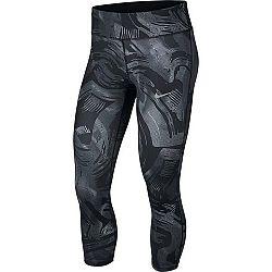 Nike ESSNTL CROP PR čierna XS - Dámske bežecké legíny