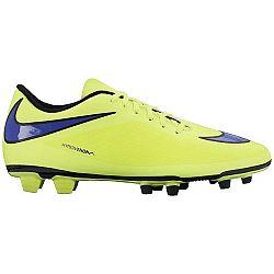 Nike HYPERVENOM PHADE FG žltá 9.5 - Pánske kopačky