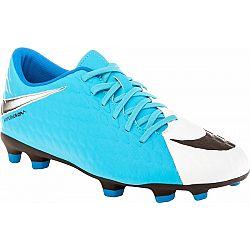 Nike HYPERVENOM PHADE III FG modrá 12 - Pánske kopačky