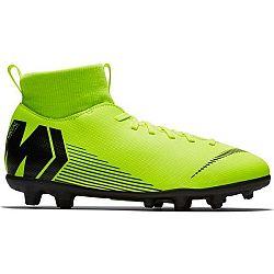 Nike JR MERCURIAL SUPERFLY 6 CLUB MG zelená 4.5Y - Detské kopačky