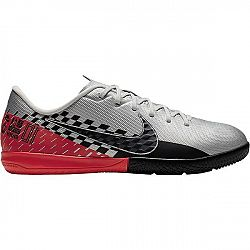 Nike JR MERCURIAL VAPOR 13 ACADEMY NEYMAR JR IC šedá 2Y - Detská halová obuv