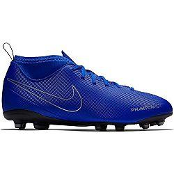 Nike JR PHANTOM VISION CLUB DYNAMIC FIT FG modrá 4.5Y - Detské kopačky