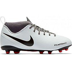 Nike JR PHANTOM VSN CLUB MG biela 5.5Y - Detské kopačky