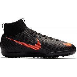 Nike JR SUPERFLYX 6 TF čierna 4Y - Detské turfy