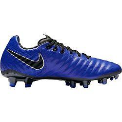 Nike JR TIEMPO LEGEND 7 ELITE JUST DO IT FG tmavo modrá 6Y - Detské kopačky