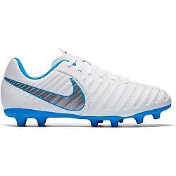 Nike JR TIEMPO LEGEND CLUB VII biela 5.5Y - Detské kopačky
