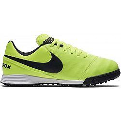 Nike JR TIEMPO LEGEND VI TF žltá 5.5Y - Detské kopačky