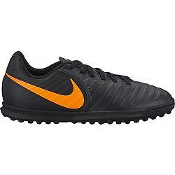 Nike JR TIEMPOX LEGEND 7 CLUB TF čierna 4Y - Detské turfy
