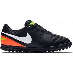 Nike JR TIEMPOX RIO III TF čierna 6Y - Detské turfy