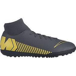 Nike MERCURIALX SUPERFLY VI CLUB TF žltá 10.5 - Pánske turfy