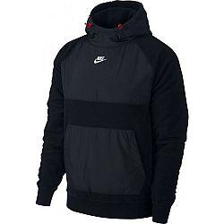 Nike NSW CE HOODIE PO WINTER M čierna S - Pánska mikina