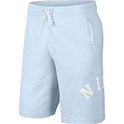 Nike NSW CE SHORT FT WASH zelená M - Pánske šortky